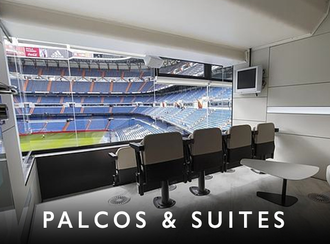 accesos, palcos vip, accesos, suites vip, entradas exclusivas, asientos preferentes, mejor vista, hospitality,