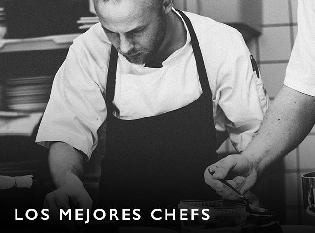 experiencias gastronómicas, los mejores chefs, chefs reconocidos