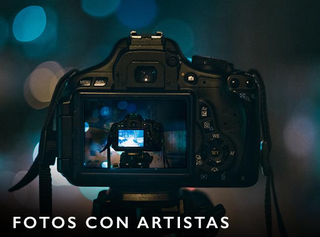 Meet & Greet, fotos con artistas, firmas de autógrafos, encuentro con famosos, cena privada con artista